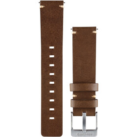Garmin Vivomove Leather Bracelet dark brown
